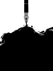 Fountain Pen Ink Design Creative Writing