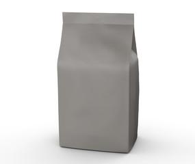 Brown and grey coffee bean bag
