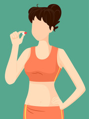 Girl Dietary Supplement