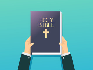 Hand Hold Holy Bible