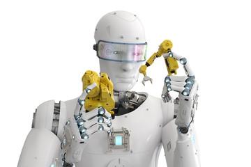 robot build robot arm