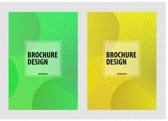 Elegant minimalistic gradient background for brochure design