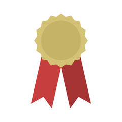 Award icon isolated.