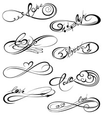Infinity icon, forever symbol