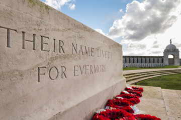 Tyne Cot Commonwealth War Graves Cemetery and Memorial to the Missing in Ypres