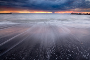 Mt.FUji Sunset refrection