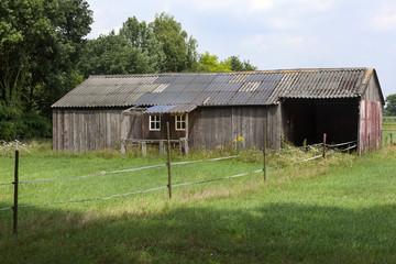 Old vintage barn