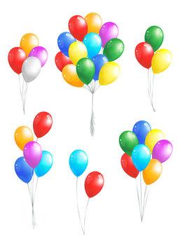 Balloons bunshes