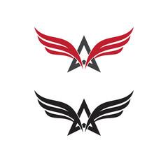 a wing vector logo