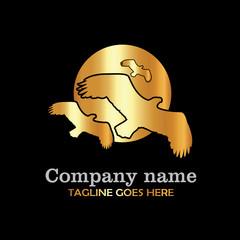 Eagle gold logo