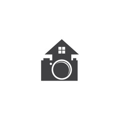 home camera icon logo