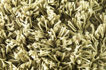 Texture pile. Closeup of white carpet. Macro