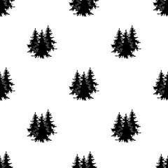 Canadian spruce. Canada single icon in black style vector symbol stock illustration web.