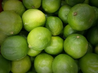 Lots of green lime