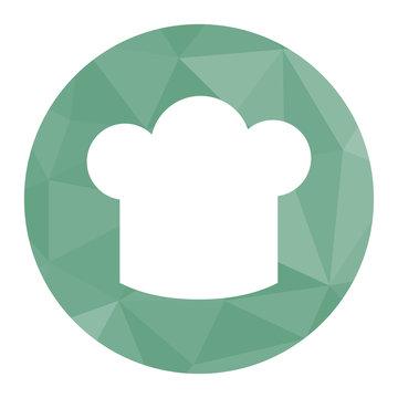Polygon Icon Kochhaube