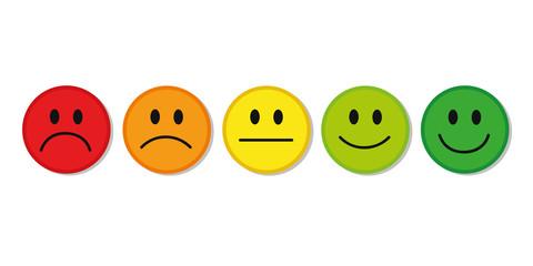 smiley bewertung feedback
