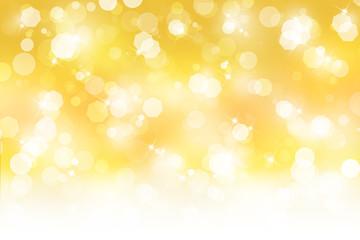金色のボケ 光 背景