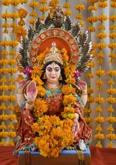 Lakshmi idol