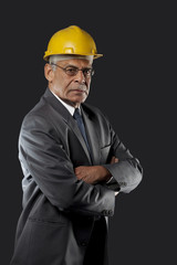 Portrait of a senior engineer
