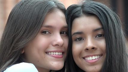 Smiling People Happy Teens