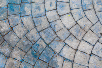 Walkway texture