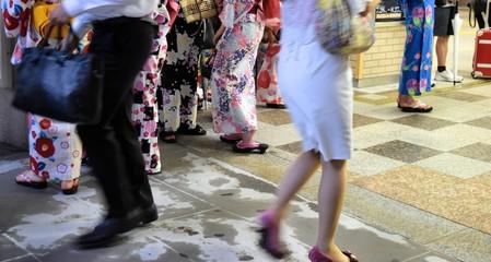 日本の夏 東京駅