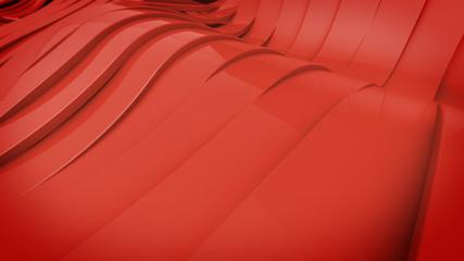 Wavy band surface