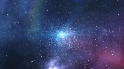 Sinister big bang of the universe billions years ago