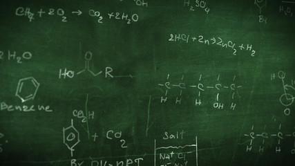 Organic chemical formulas