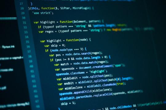 Software computer programming code