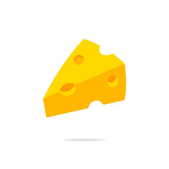 Cheese vector isolated illustration