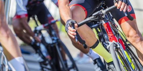 In de dag Fietsen Radrennen