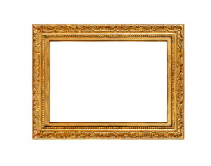 Frame on white background.