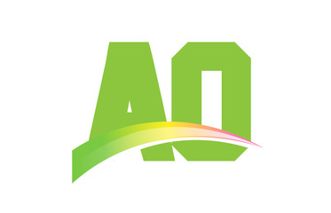 AO Initial Logo for your startup venture