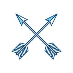Arch bow arrow