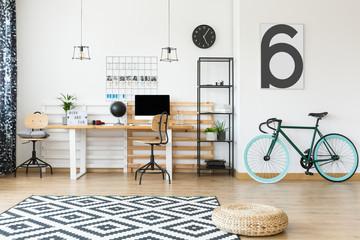 Freelancer's open space apartment