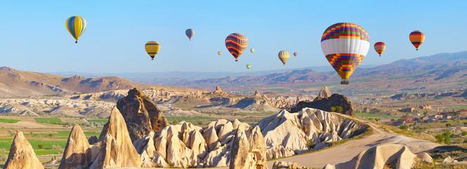 Printed roller blinds Balloon Hot air balloons in Cappadocia, Turkey
