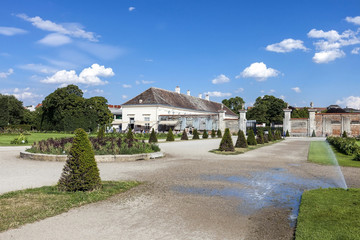 Augarten park with the Augarten Cafe