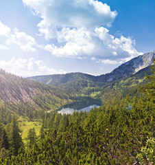 The Steirersee of Tauplitzalm Austria
