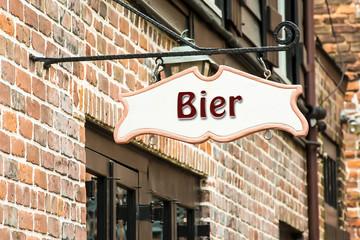 Schild 275 - Bier