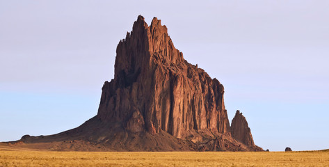A Close Up of Shiprock in New Mexico Wall mural