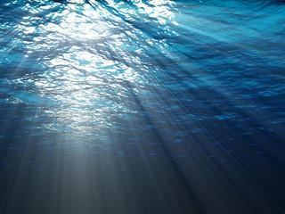 An underwater scene