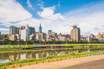 Taipei city skyline in Taiwan