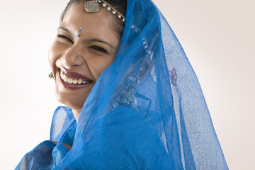 Portrait of a Gujarati woman
