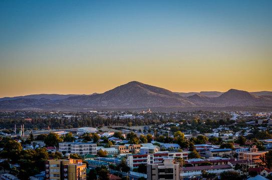 Windhoek am Abend