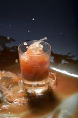 Drink splashing