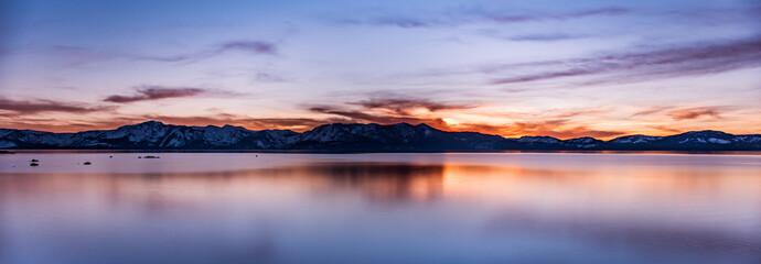 Sundown at Tahoe
