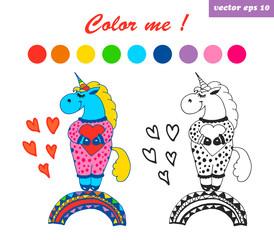 coloring book drem bigger unicorn