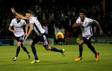 Carabao Cup First Round - Crewe Alexandra vs Bolton Wanderers