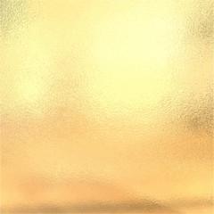 Gold metallic foil, Vector illustration
